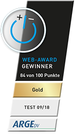 Goldener Web-Award