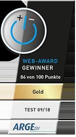 Goldener Web-Award